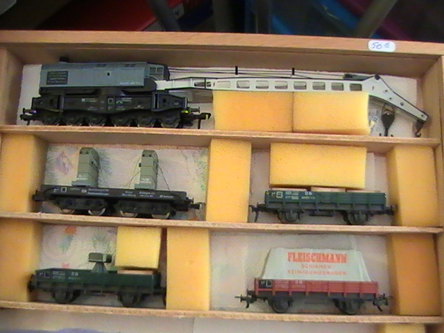 Le train de secours Fleischmann.