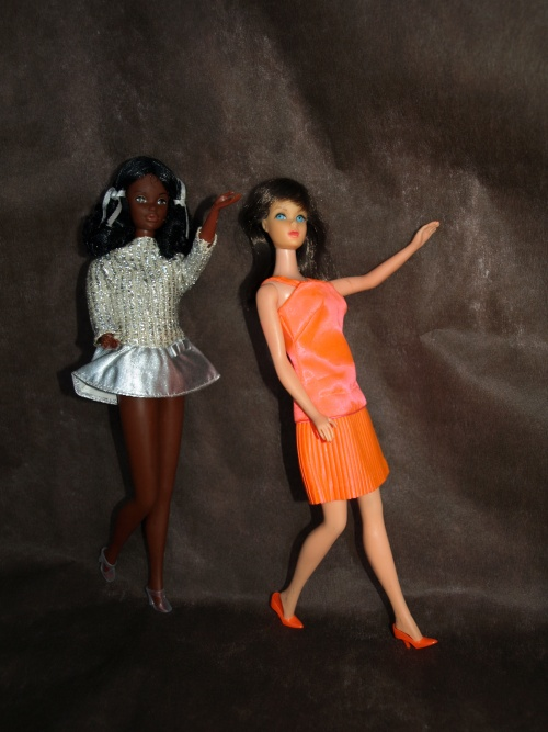 Barbie vintage : Disco Dater - Salute to Silver / Silver Sparkle