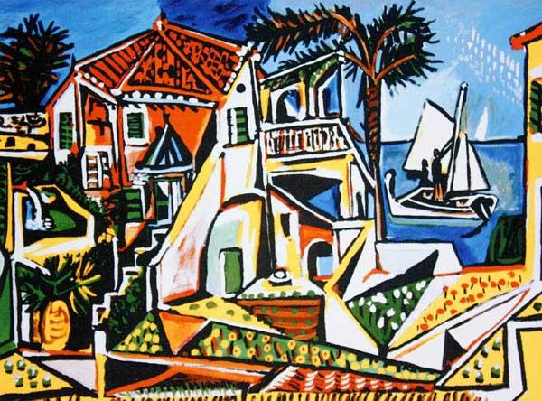 """Résultat de recherche d'images pour """"Picasso paysage méditerranéen"""""""