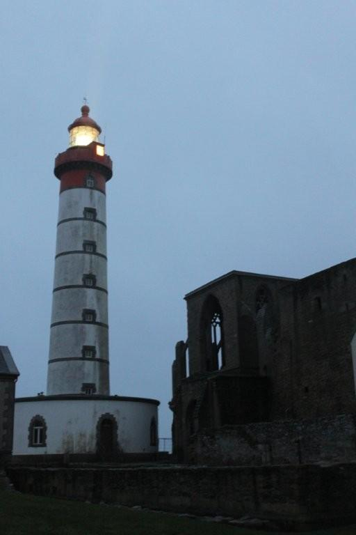 A la Pointe St Matthieu au crépuscule ! (2)