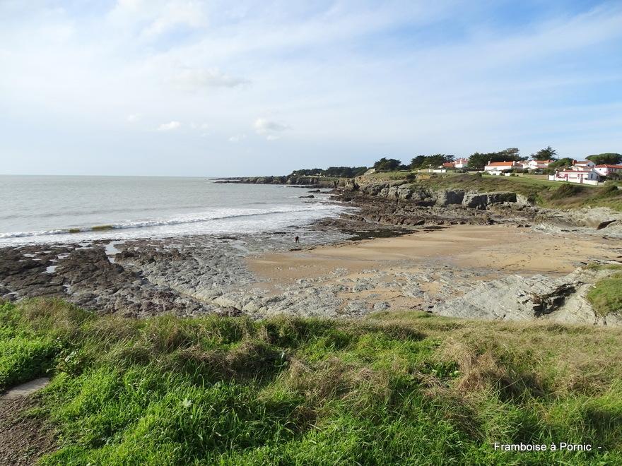 Préfailles, sentier du littoral janvier 2020