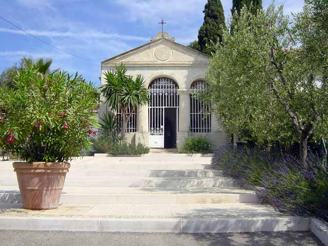 Sanary sur mer : La chapelle Notre-Dame de Piété