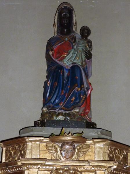 Riom - Eglise Saint Marthuret Vierge noire du 14ème