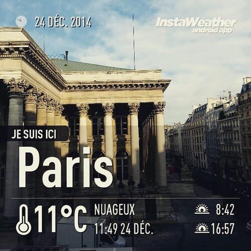 Un Noël à Paris, Paris / Lorraine / France