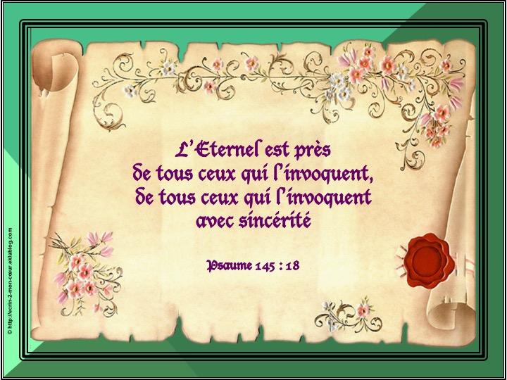 Ronde Versets du coeur 161