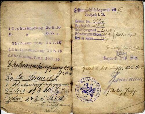 Mosellans dans l'aviation allemande en août 1918