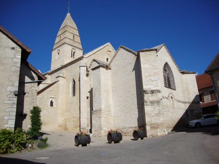 Saint-Aubin (21190) église Saint-Aubin