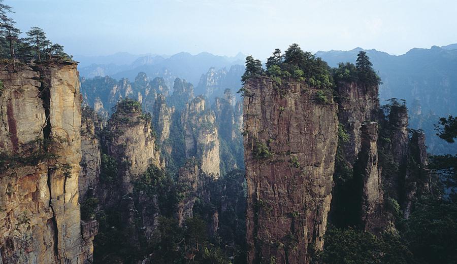 Photos du Jour Montagnes de Huangshan dans la province d'Anhui, Chine