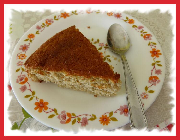 Gâteau à la compote de Pommes  ..