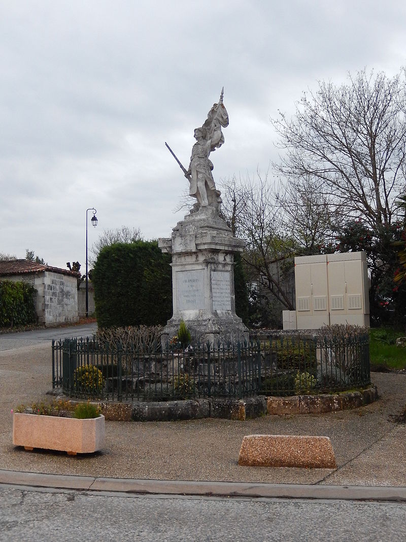 FR 17 Colombiers - Monument aux Morrts.JPG