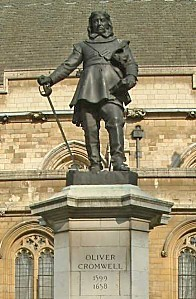 Oliver Cromwell - Statue - Palace of Westminster - London -