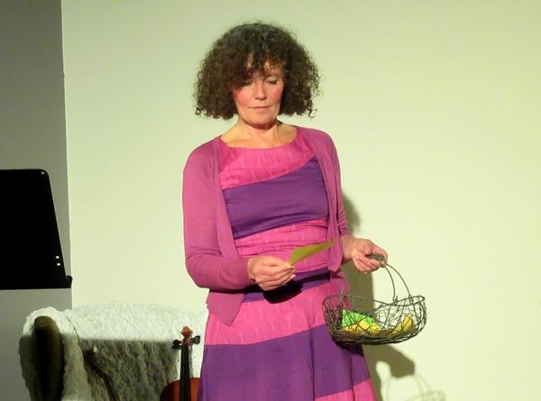 """Nathalie Guéraud et Isabelle François ont enchanté le public, au bar du TGB, avec """"La Beauté-L'enchantement de la mandarine"""""""