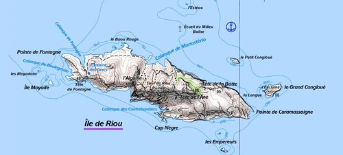 Les iles de l'archipel de Riou, RIOU, la reine