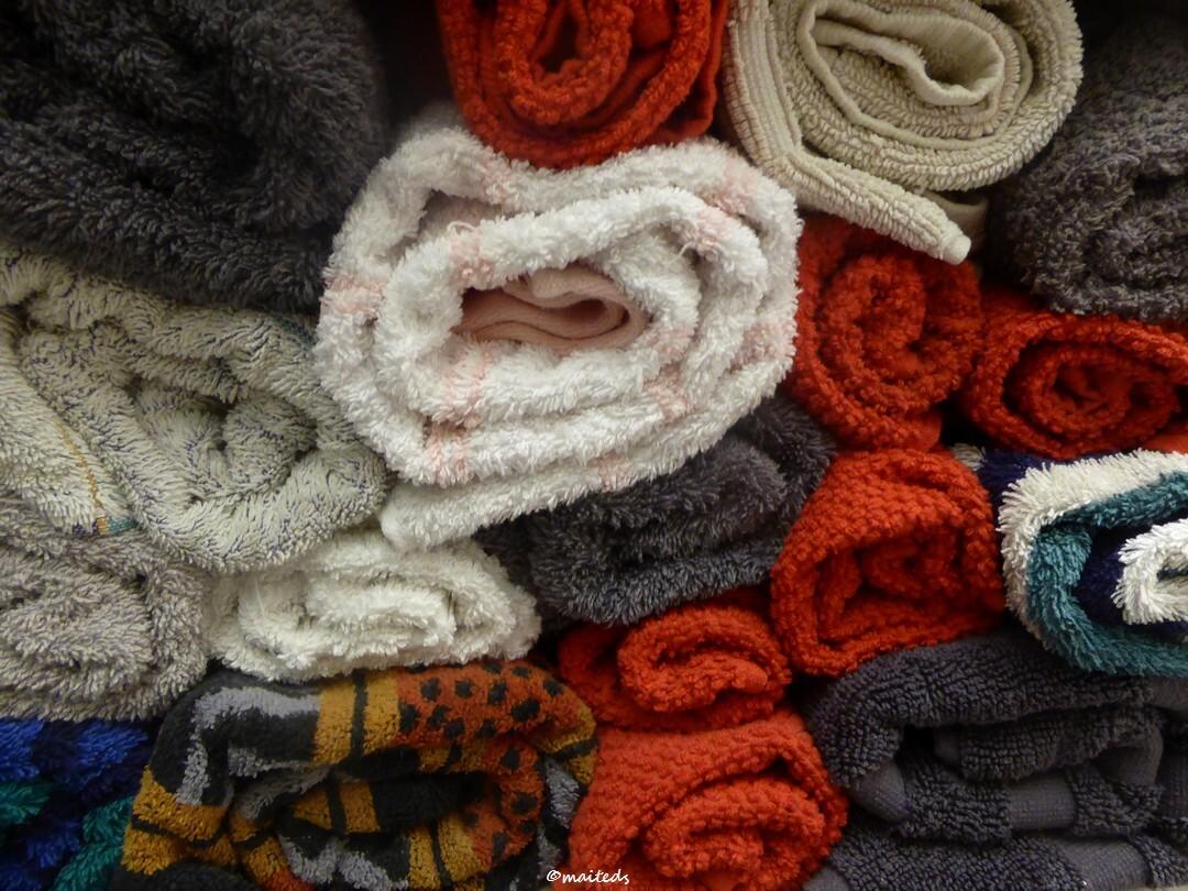 Pêle mêle - rangement serviettes,