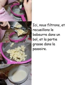 La fabrication du beurre