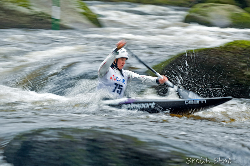 kayak - filé slalom roches du diable