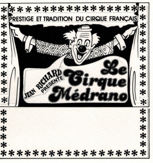 le nouveau cirque Medrano direction Jean Richard