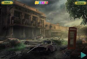 Jouer à Can you escape deserted town 3