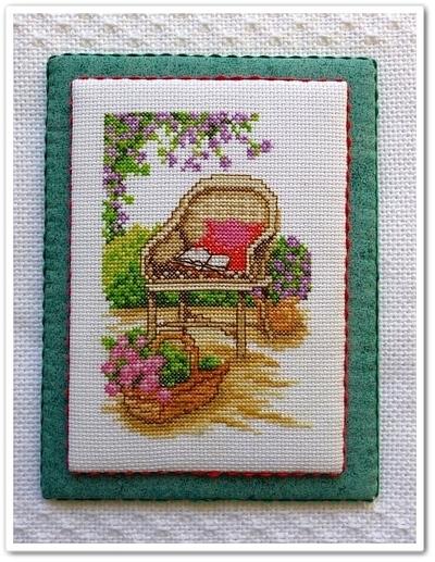 Banc et fauteuil de jardin fin