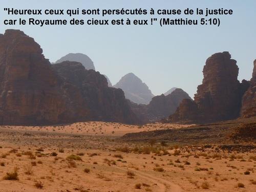Heureux les persécutés ?!