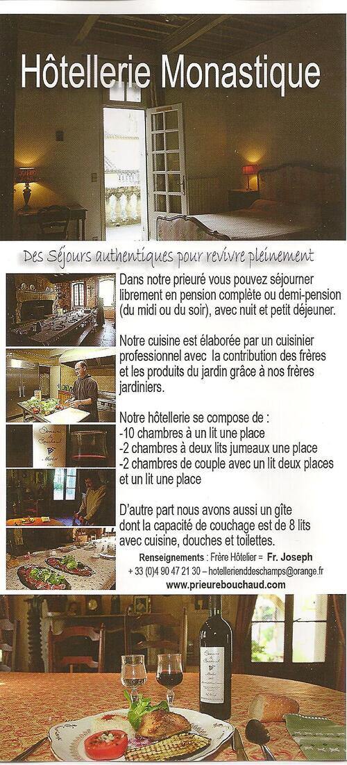 Arles, l'hôtellerie du prieuré ND des Champs