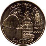 Lourdes : Les distributeurs de médailles