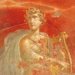 Apollon - Peinture Pompéi