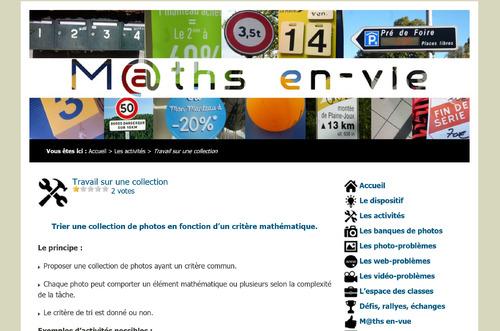 Sites pour les maths