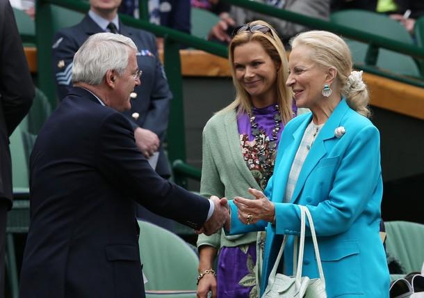 Marie-Christine à Wimbledon