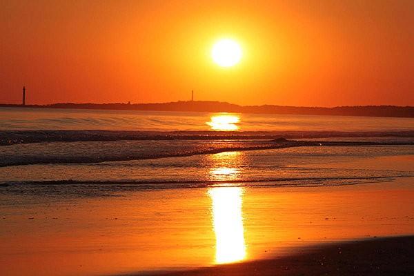 coucher de soleil sur Bonne Anse depuis la Grande Côte3