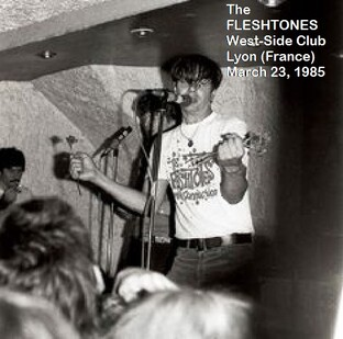 Live : The Fleshtones - West Side Club - Lyon - 23 Mars 1985