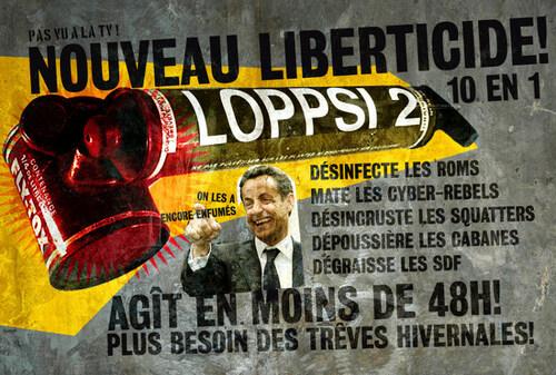 La loi, le campement et les libertés... (LOPPSI 2) + suite.
