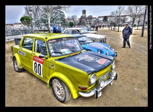 Rallye MONTE CARLO (Historique) façon H.D.R!