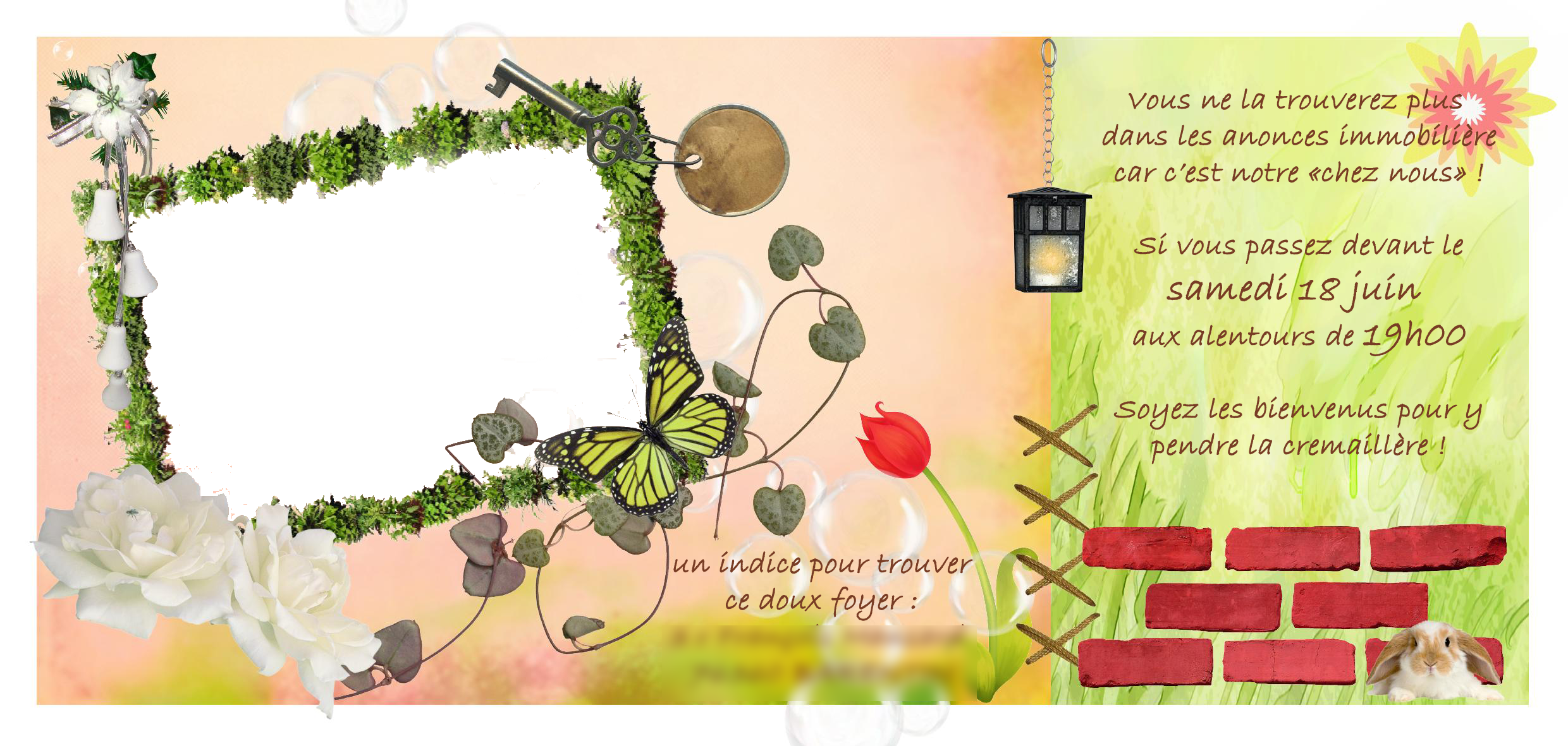 Digiscrap made by didii for Pendre la cremaillere cadeau