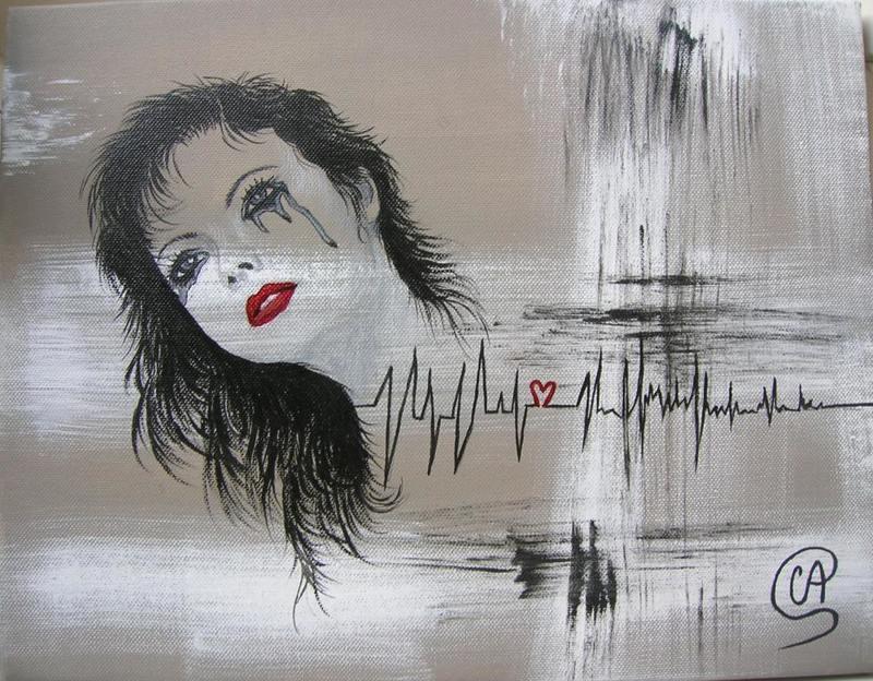 Portraits de Femmes Abstraits
