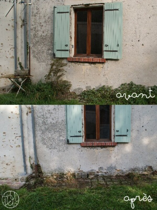 Jardin d'automne - Grand nettoyage