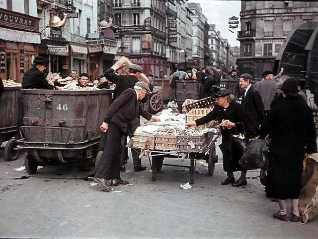 Andre Zucca: Nazi Propaganda Photos - Paris during WW234