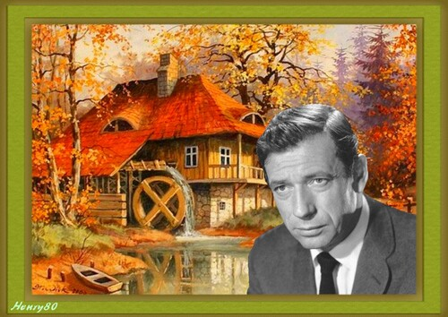 YVES MONTAND 25 ANS DEJA
