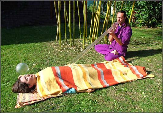 Bain sonores avec Didgeridoo