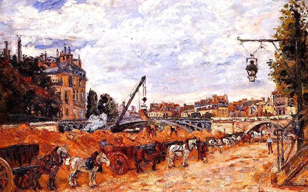 Guillaumin  / 2/  1880-Notre -Dame de Paris