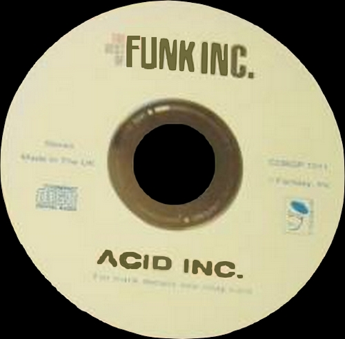 "Funk Inc. "" Acid Inc : The Best Of Funk Inc. "" Ace BGP Records CDBGP 1011 [UK]"
