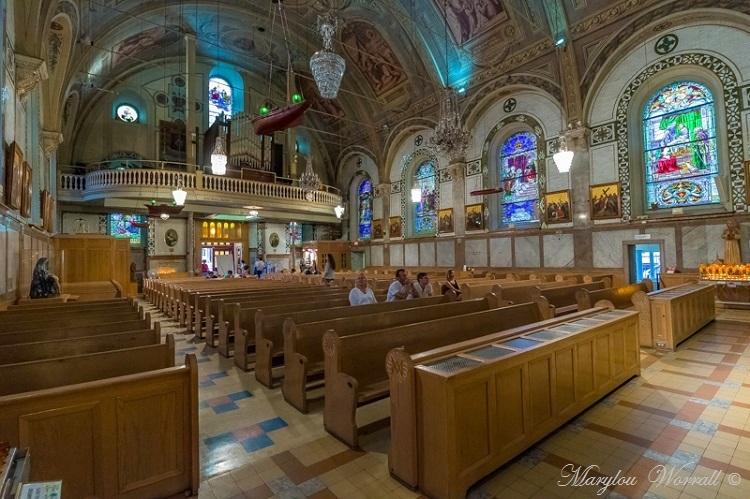 Montréal : Chapelle Notre-Dame-de-Bonsecours