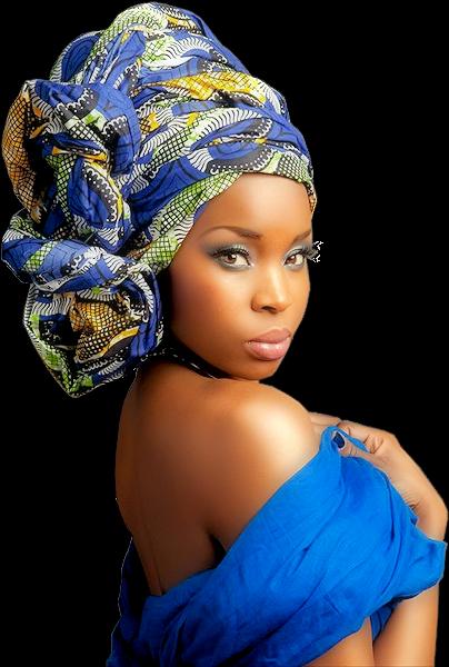 Tubes femmes création africaine 4