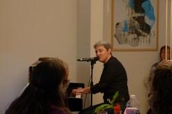 C'était samedi à Locminé, avec le piano noir du Cheval Bleu.