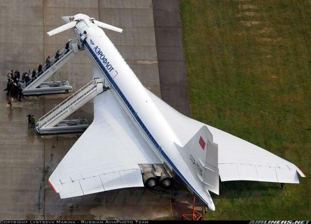 Tupolev Tu144 vs Concorde