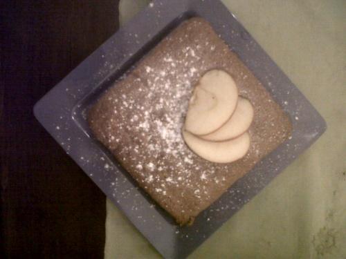 Petit cake pomme/banane réconfortant