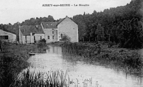 Souvenirs du Moulin Brugère à Aisey sur Seine...