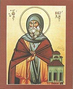 Saint Nil l'Ascète, abbé († v. 450)