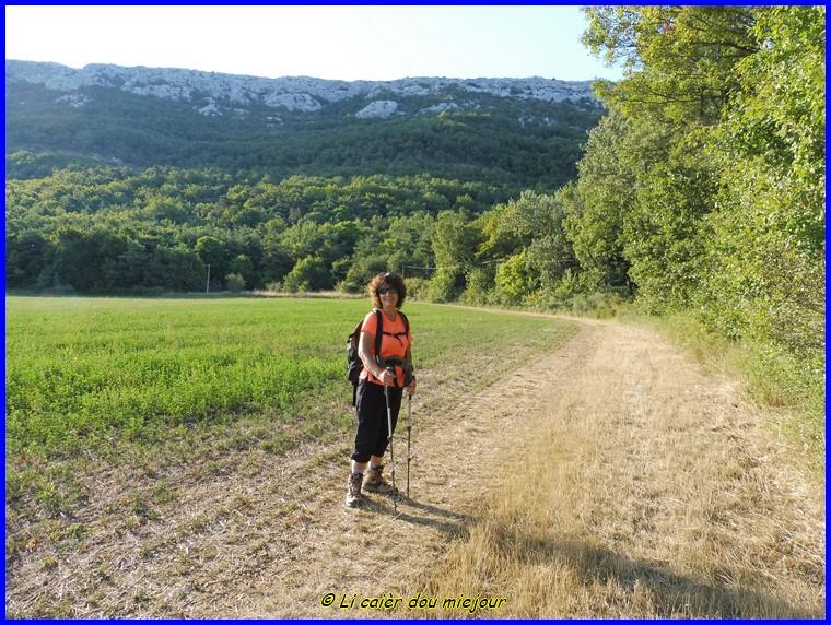 Sainte-Baume, le pas de Brancaille, le pas de la Cabre