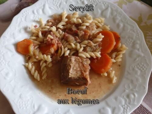 Boeuf aux légumes (mijot'cook)